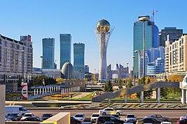 Centrum van Astana