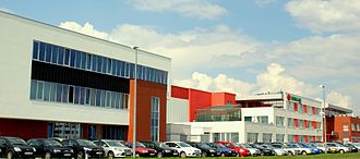 Wholesaling - Headquarters of Eurocash Group, a Polish wholesaler