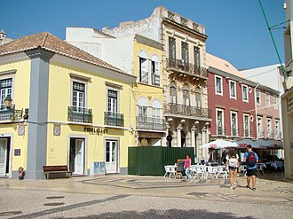 Faro, Portugal - A view of the historical centre