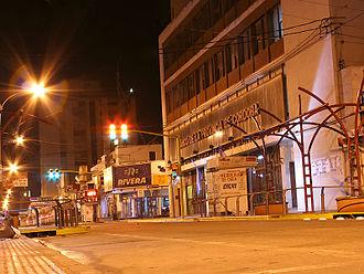 Bell Ville - Image: Centro noche 800 2