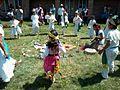 Ceremonia azteca de bienvenida a la primavera en Ayahualulco, Veracruz, México. 22.jpg