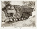 Cergnat mountain hut etching 21x27cm'86.tif