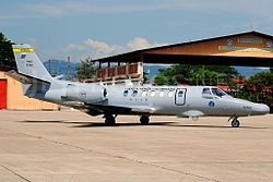Cessna 560 Citation V, Colombia - Air Force JP7612555.jpg