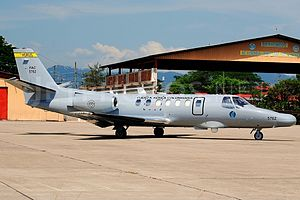 Cessna Citation V - OT-47B in service with the Colombian Air Force