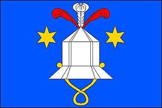 Cetkovice - Image: Cetkovice vlajka
