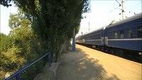 File:ChS2-415 with train arrives Saki station.webm