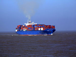 Chaiten IMO 9295945 approaching Port of Rotterdam, Holland 08-Mar-2007.jpg