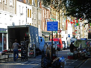 Chalton Street Market