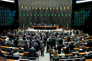National Congress of Brazil - Image: Chamber of Deputies of Brazil 2