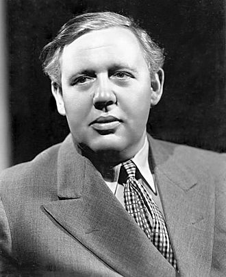 Charles Laughton - Promotional portrait of Charles Laughton for The Barretts of Wimpole Street (1934)