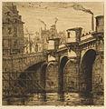 Charles Meryon, Pont-Neuf, Paris, 1853 n3.jpg