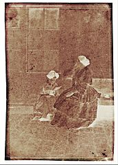 Charles Nègre - Women in a Courtyard - Google Art Project (wwH5O-thVYsijA).jpg