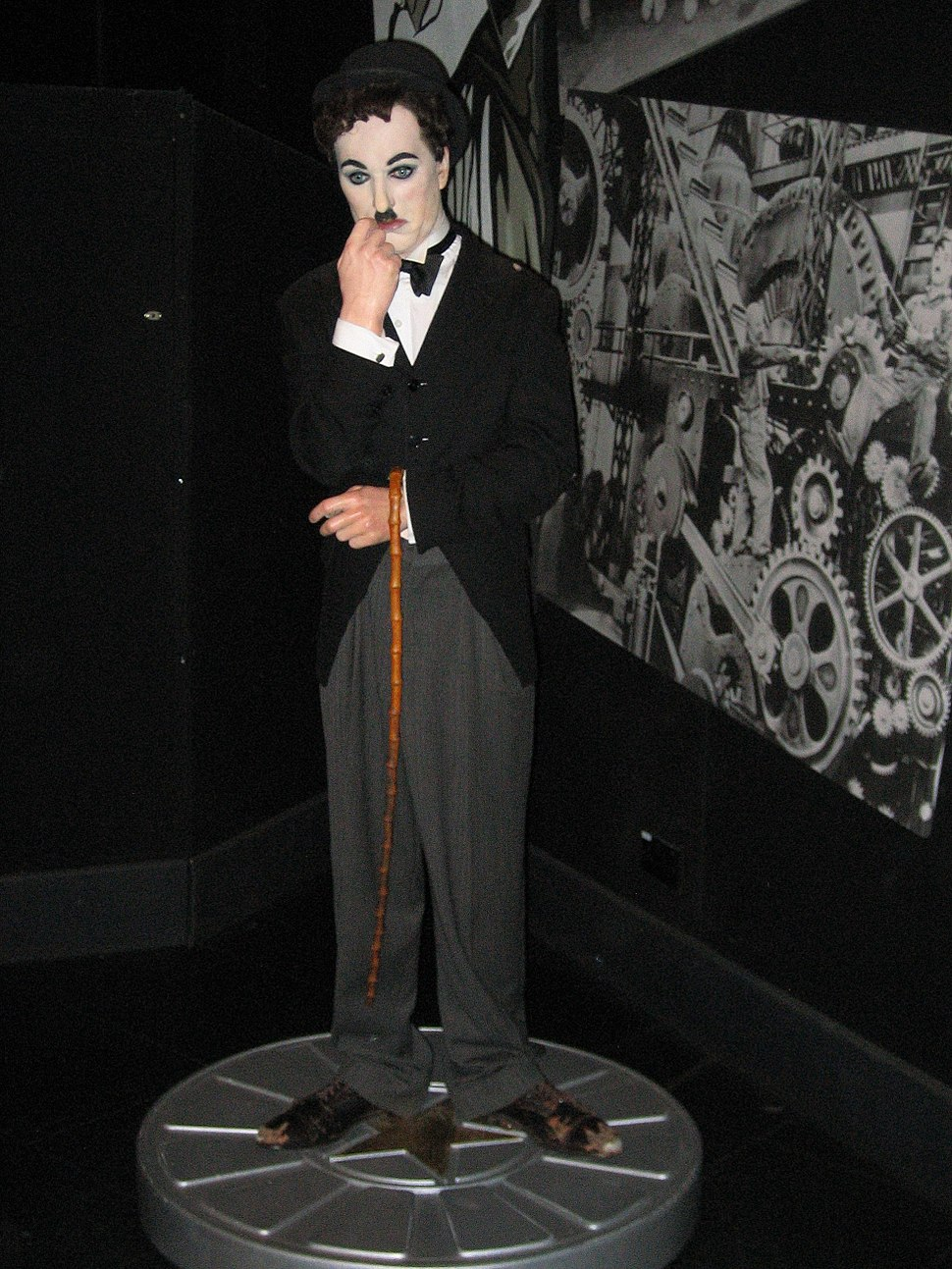 Charlie Chaplin in Madame Tussauds London