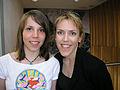 Charlotte Kalla & Åsa Larsson 2005-04-27 001.jpg