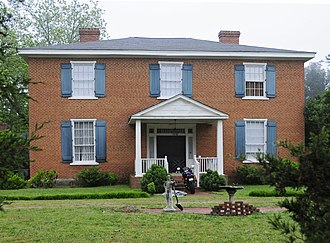National Register of Historic Places listings in Laurens County, South Carolina - Image: Charlton Hall Plantation House