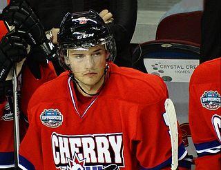 Chase De Leo American ice hockey player (1995-)