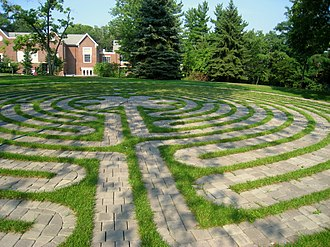Chatham University - Campus labyrinth