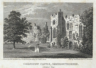 Chepstow Castle, Monmouthshire (Interior View)