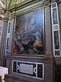 Chiesa abbaziale di s. michele a passignano, int., cappella di s.g. gualberto, prova del fuoco di g.m. butteri, 1581.JPG
