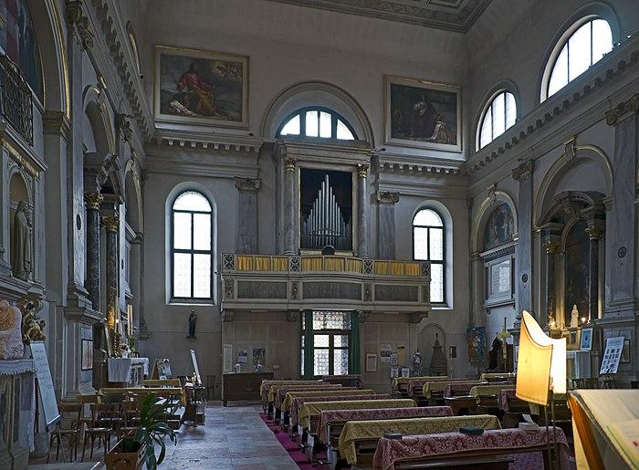 Chiesa di San Luca Venezia - organo
