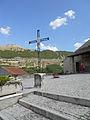 Chiesa di San Panfilo, Tornimparte - prima stele.jpg
