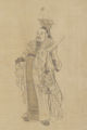 Chinese - The Twenty-Four Ministers of the Tang -T'ang- Dynasty Emperor Taizong -T'ai-Tsung- - Walters 3557 - Li Xiaogong.png