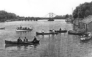 Chippawa, Ontario - Boating at Chippawa, 1905