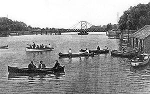 Chippawa, Ontario - Boating at Chippawa, 1905