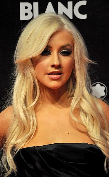 """Christina Aguilera (at premiere of """"To John With Love"""", September 2010)"""