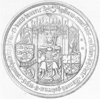 Christopher of Bavaria - Seal of Christopher of Bavaria.