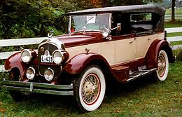 Una Chrysler Imperial del 1926