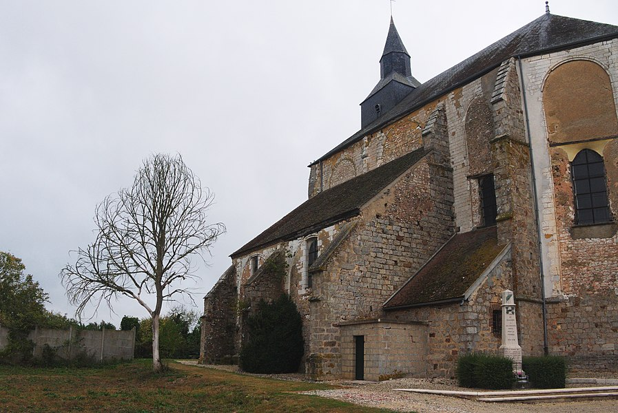 Church of Coulours (Yonne) (flickruser1banaan)