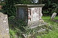 Church of St Nicholas, Ash-with-Westmarsh, Kent - Thomas Wood table tomb chest 01.jpg