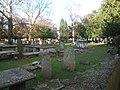 Churchyard of St Martin of Tours, Epsom - geograph.org.uk - 132773.jpg