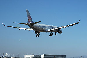 Three Links - On January 29, 2005, China Airlines flight CAL581 landed in Beijing, People's Republic of China.
