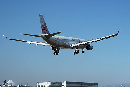 On January 29, 2005, China Airlines flight CAL581 landed in Beijing, People's Republic of China. Ci581 pek.JPG