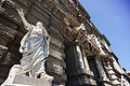 Cicerone Monument in front of the Palace of Justice, Rome (Palazzo di Giustizia), Prati District, Rome, Italy.jpg