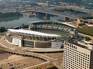 Cincinnati Bengals - Paul Brown Stadium, home of the Bengals.