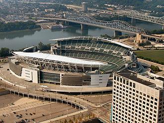 Cincinnati Bengals - Paul Brown Stadium, home of the Bengals.