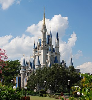 Cinderella (Disney character) - Cinderella Castle at Walt Disney World.