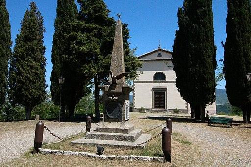 Cinigiano, Monticello Amiata, Santuario della Madonna di Val di Prata