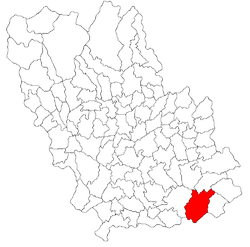 Vị trí của Ciorani
