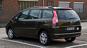 Citroën C4 Picasso - Citroën Grand C4 Picasso (Germany; facelift)