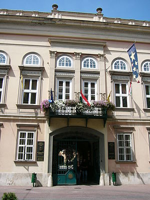 City Centre (Miskolc) - The City Hall