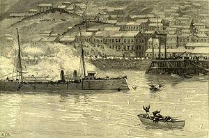 Battle of Caldera Bay - Image: Civil war Chile Almiranre Lynch