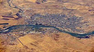 Cizre - Aerial view of Cizre