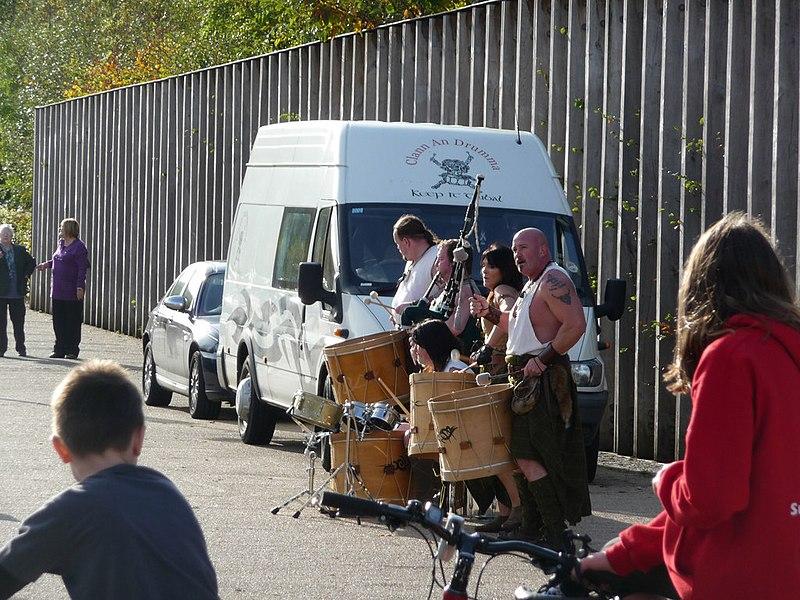 File:Clann An Drumma at Loch Lomond Shores - geograph.org.uk - 1660608.jpg