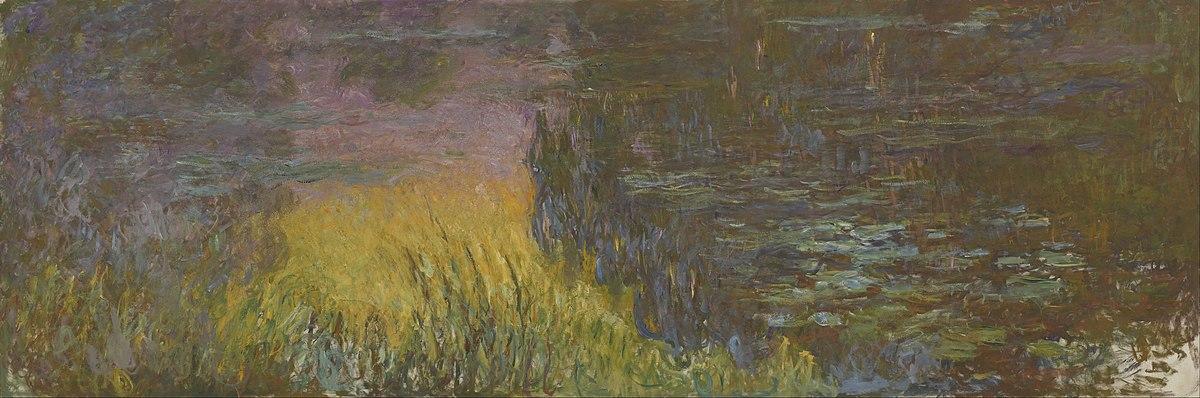 File:Claude Monet - The Water Lilies - Setting Sun - Google Art Project.jpg  - Wikimedia Commons