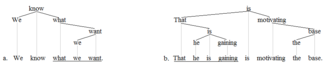 Clause - Clause trees 1'