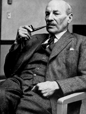 Clement Attlee, Prime Minister of the United Kingdom (1945-1951) Clement Attlee.png